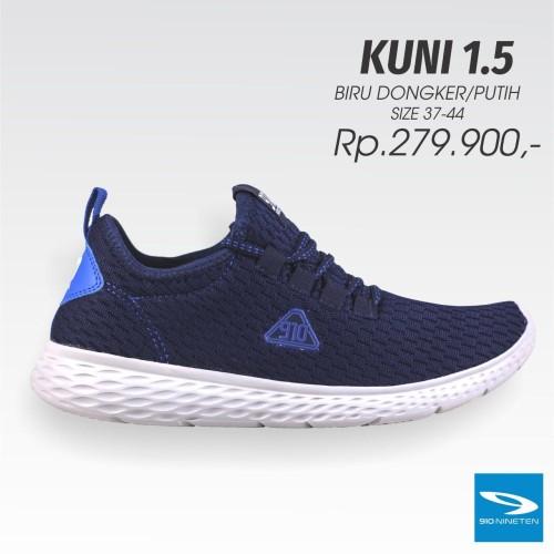 Foto Produk Sepatu running 910 nineten KUNI 1.5 navy original new 2019 dari Kicosport