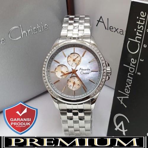 Foto Produk Jam Tangan Wanita Alexandre Christie AC 2598 Silver Blue Original dari YM_store27