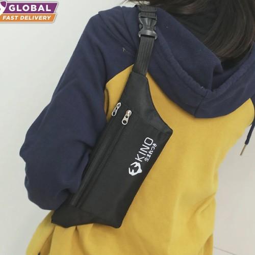 Foto Produk KINO WAIST BAG FASHION TAS PINGGANG SELEMPANG PRIA LAKI-LAKI dari Shopandsave