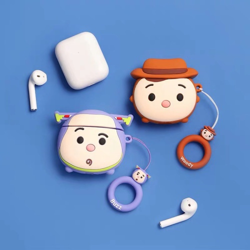 Foto Produk Airpods Case Toy Story + Hook - Woody, 1 atau 2 dari windowshoppingid