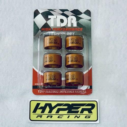 Foto Produk Roller TDR 11 Gram - Nmax Aerox Lexi Xeon M3 Z S Fino 125 Xride Freego dari HYPER RACING