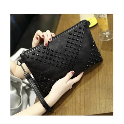 Foto Produk clutch import black color dari hk.store