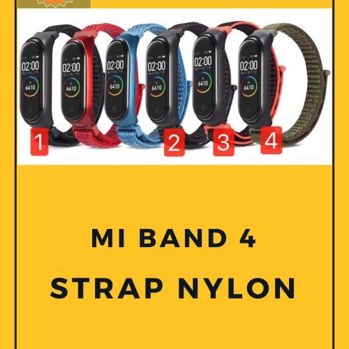 Foto Produk Strap Mi band 4 / Miband 4 Nylon Sport dari O-Gadget