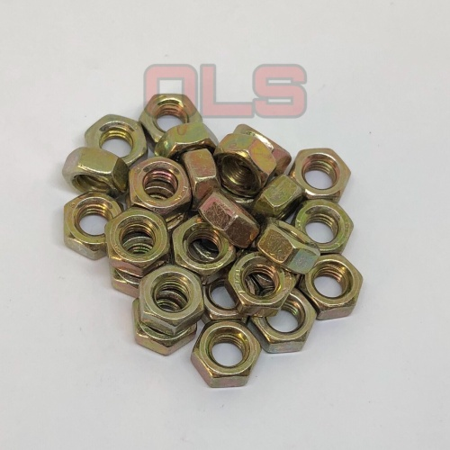 Foto Produk MUR M8 KUNING kunci 12 mur Kuning 8mm dari OLS_Fastener