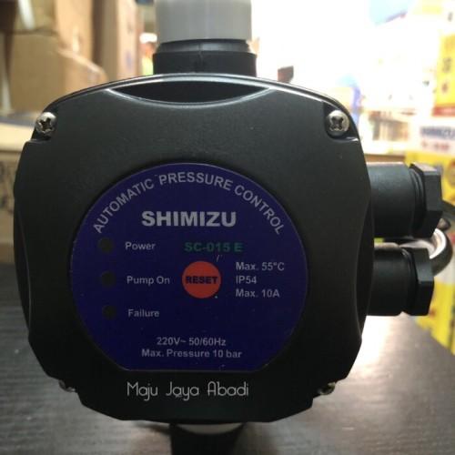 Foto Produk Pressure Control Shimizu SC 015E Otomatis Pompa Booster Pendorong dari Toko Maju Jaya Abadi
