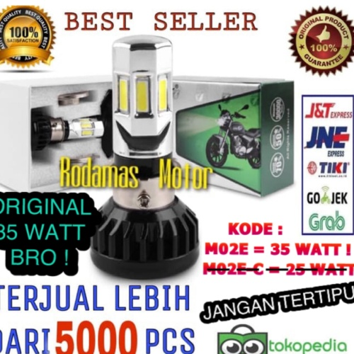 Foto Produk Lampu led motor 6 sisi RTD M02E dari Rodamas