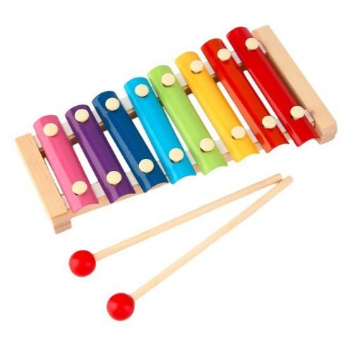 Foto Produk Colorful Xylophone Kids Toys - Mainan Edukasi Musik Anak Kolintang dari My Own Flashcards