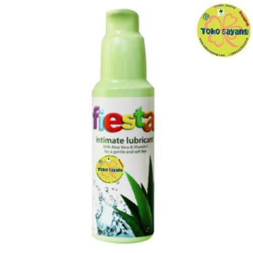 Foto Produk Fiesta Lubricant Aloe Vera & Vitamin E - 100 mL dari toko sayang