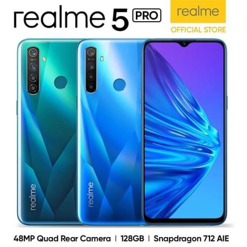 Foto Produk Realme 5 Pro 4/128 Ram 4GB Internal 128GB Garansi Resmi dari dk-cell