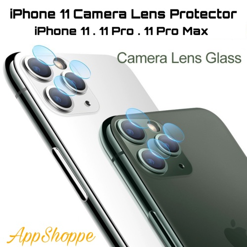 Foto Produk iPhone 11 Back Camera Lens Screen Protector iPhone 11 Pro Max dari AppShoppe