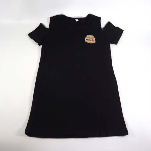Foto Produk dress anak casual hitam abu abu umur ukuran S M L - Hitam, S dari Amare Shopaholic