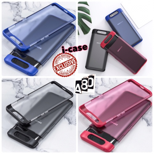 Foto Produk Case Matte Series Samsung A80 2019 new arrival Limited Edition For a80 - Merah dari i-case