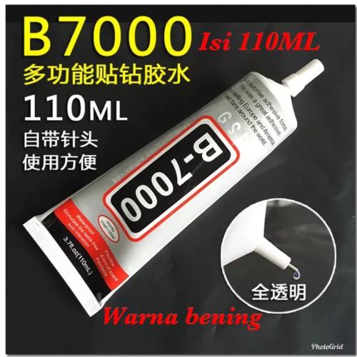 Foto Produk LEM TOUCHSCREEN & LCD HP & PONSEL B-7000 110ML BENING - bening dari digital shop6688