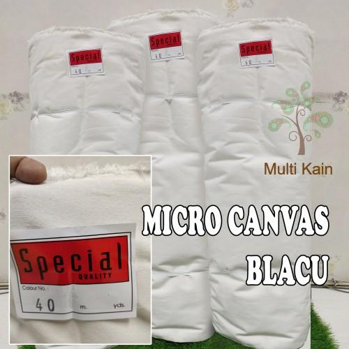 Foto Produk bahan kain blacu lebar 1.5 meter canvas, twill jean tebal tote bag - blacu twill dari multi kain