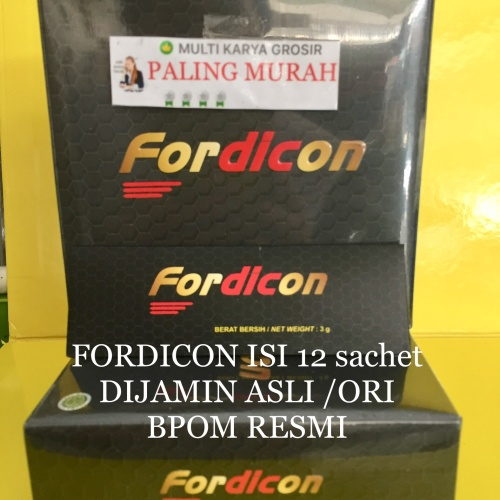 Foto Produk Fordicon suplemen Stamina Pria 1 Bok dari MULTI KARYA GROSIR