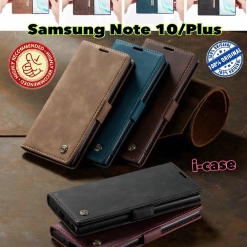 Foto Produk Samsung Note 10 / Plus Case Flip Cover Wallet Original Caseme dari i-case