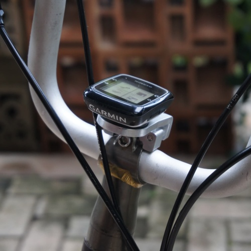Foto Produk Brompton bike stem out front computer mount light garmin edge gopro br dari Toko gadget 99