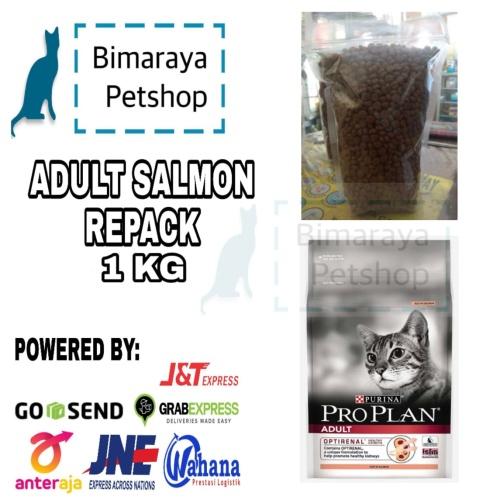 Foto Produk PROPLAN ADULT SALMON 1KG REPACK dari bimaraya petshop