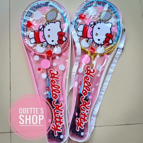 Foto Produk Raket badminton anak (isi 2 pcs)/raket bulutangkis anak dari Hebohstore
