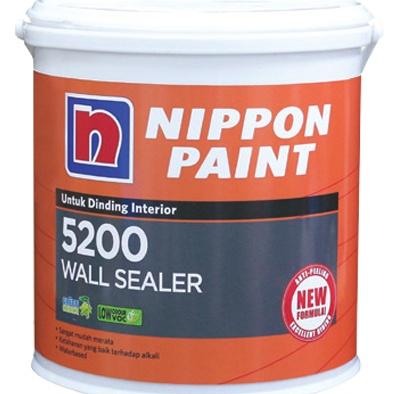 Foto Produk Cat Dasar WALL SEALER 5200 Nippon Paint 4kg dari TOKO MATERIAL ON