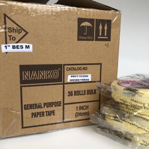 Foto Produk masking tape NANKO BES (24mm x 24m) dari Toko LuShan