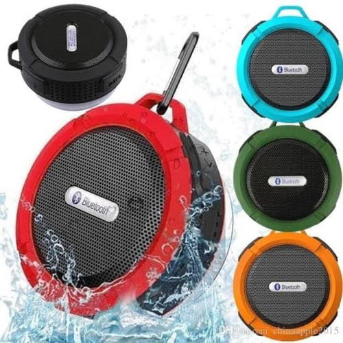 Foto Produk Speaker - Speker Bluetooth Portable C6 Waterproof ( Anti Air ) dari PINZY Official Store