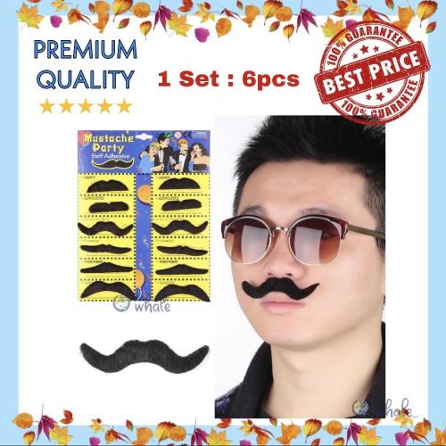 Foto Produk Kumis Palsu Pelengkap Pesta / Fake Moustache Best Seller! dari Owhale