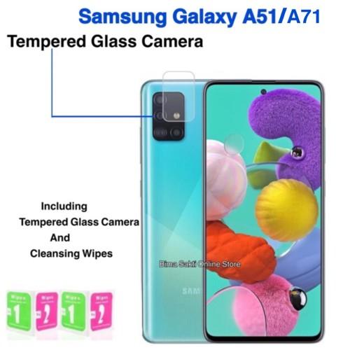 Foto Produk SAMSUNG GALAXY A71 TEMPERED GLASS CAMERA ANTI GORES KACA KAMERA dari bima sakti online store