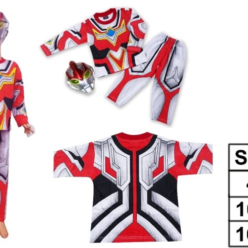 Foto Produk Kostum anak Ultraman Nexus size 4-20(2-10th) - 4 dari Sun-kids