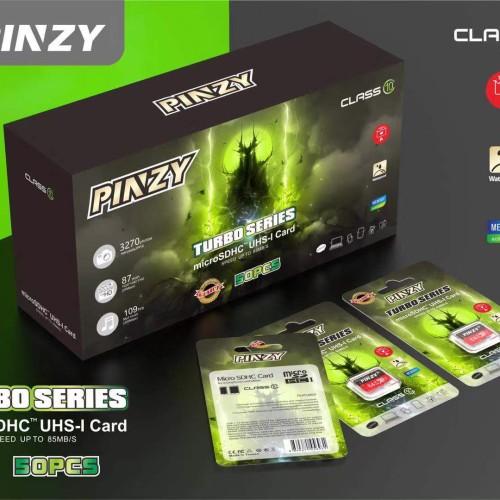 Foto Produk PINZY Original Microsd card Turbo series Class 10 16GB dari PINZY Official Store