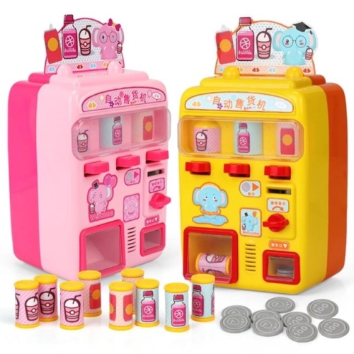 Foto Produk Vending Machine Pretend Play - Mainan Anak Otomatis - Kado Toy - Kuning dari My Own Flashcards