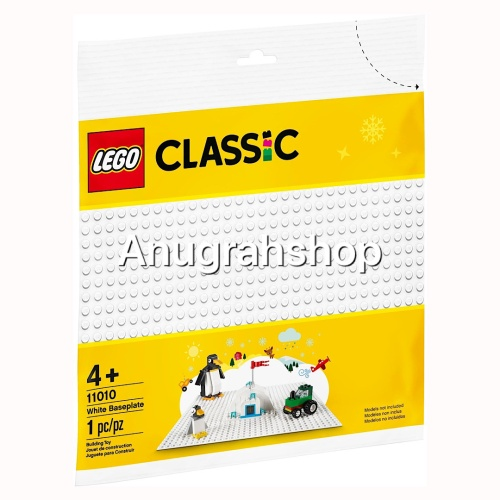 Foto Produk LEGO 11010 CLASSIC White Baseplate dari AnugrahShop.com