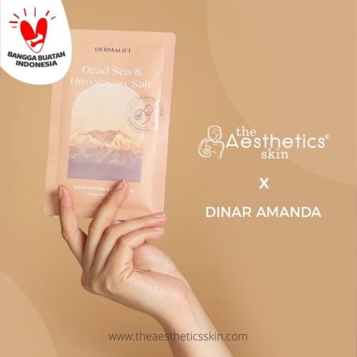 Foto Produk Dead Sea & Himalayan Salt Powder Peel Off Mask X Dinar Amanda dari The Aesthetics Skin