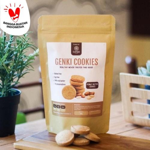 Foto Produk Genki Cookies (Peanut Butter Cookies) - 100 g dari Genki Plant