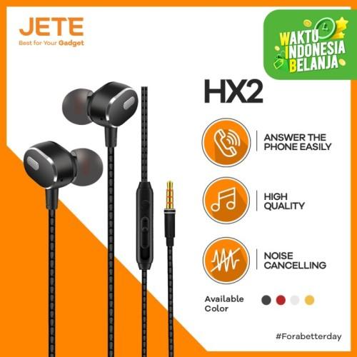 Foto Produk Headset Jete HX2 Earphone/Headphone/Handsfree Super Bass - Gold dari JeteIndonesia