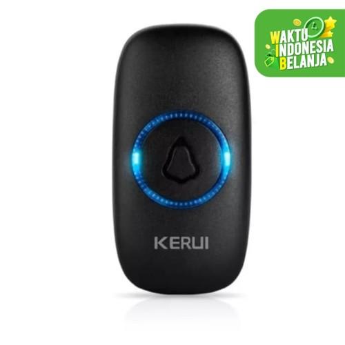 Foto Produk Trasmitter Tombol KERUI M523 Bel Pintu Rumah Wireless Waterproof - Putih dari Asyam Weiseman