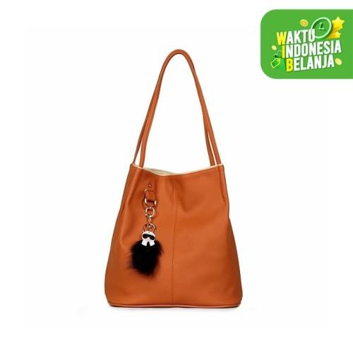 Foto Produk Ceviro Conity Tote Bag Camel - Camel dari Ceviro Bags Indonesia