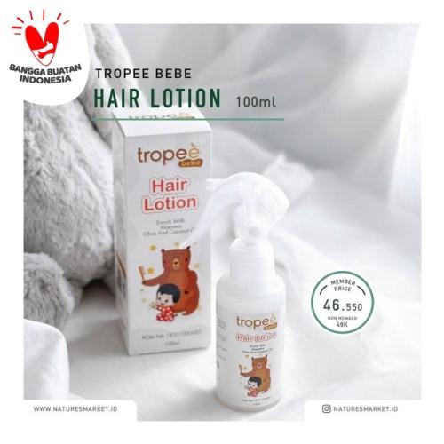 Foto Produk Tropee Bebe Hair Lotion 100ml dari naturesmarket