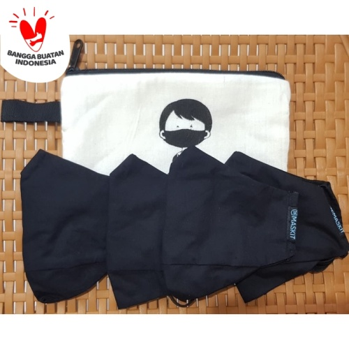 Foto Produk Masker Maskit Promo 4pcs + Gratis Pouch - Tanpa Pouch dari Maskit Store