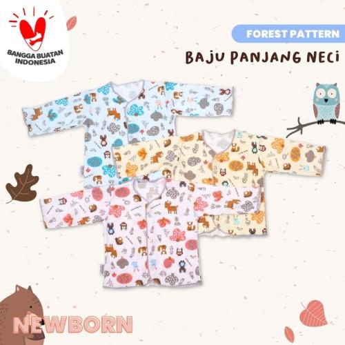 Foto Produk Blessing babywear-baju bayi tangan panjang newborn-0-3 bulan-f-adw dari BLESSING Babywear