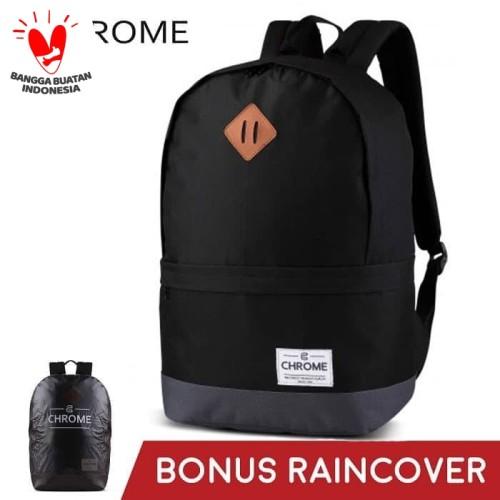 Foto Produk Tas Ransel Pria Backpack Chrome 04 Hitam dari chromebag