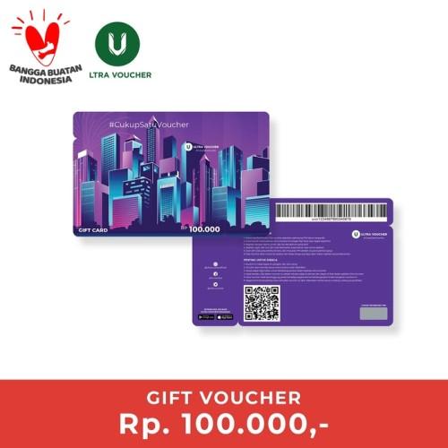 Foto Produk Paket Belanja Ultra Gift Card dari Ultra Voucher