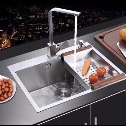 Foto Produk Kitchen sink 6045 paket komplit dari Sarana Jaya Utama