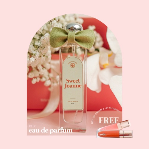 Foto Produk Body perfume Sweet Joanne promo free lip cream and lip gloss dari House of Volia