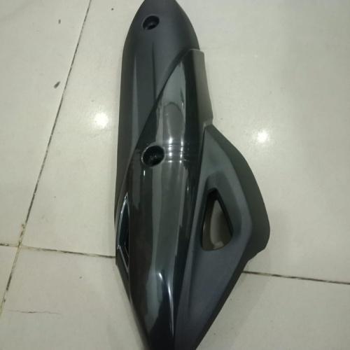 Foto Produk Tutup cover knalpot Honda PCX NEW LOKAL model standart - TANPA BUBBLE dari KUFA Varian