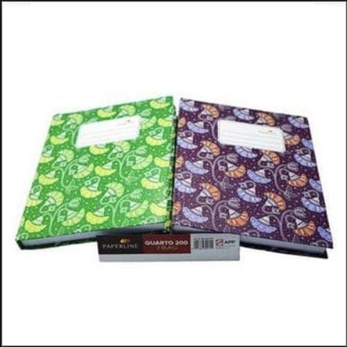 Foto Produk Buku hard cover kuarto 200 paperline dari ilona stationery