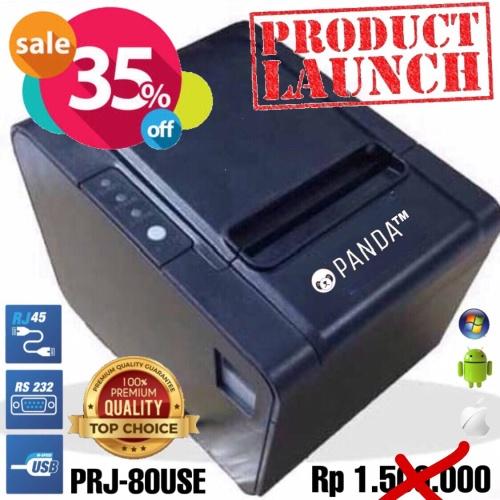 Foto Produk POS MINI PRINTER KASIR 80MM THERMAL PANDA PRJ-80USE (USB+SERIAL+LAN) dari PANDA RETAIL SOLUTIONS