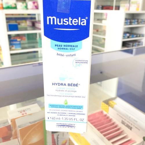 Foto Produk Mustela Hydra Bebe 40ml Facial Cream Moisture and Strengthens dari Hrs Apotek