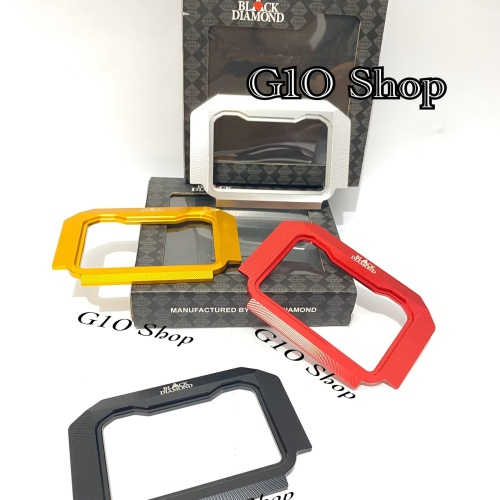 Foto Produk Cover Speedometer / Spedometer CNC Black Diamond Honda ADV 150 dari G1O Shop