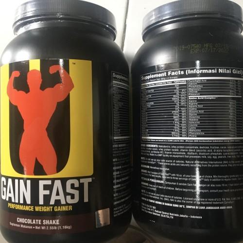 Foto Produk Universal gain fast 2.55lbs dari xieanz supplement